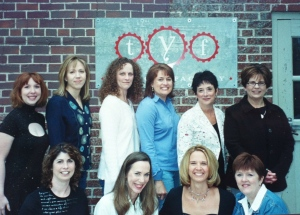 The first 9 ladies I shared my growth with. Julie, Rachel, Jodie, Stephanie, Beverly, Janet, Polly, Christina, Me, Gwen.