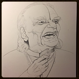 B.K.S. Iyengar, Pencil.