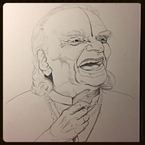 B.K.S. Iyengar, Pencil.